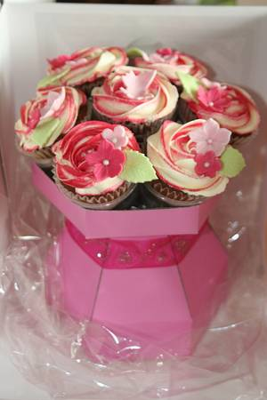 Cupcake Bouquet - Cake by Mimi's Sweet Treats