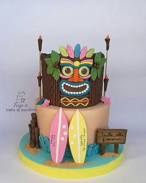 Hawaii cake - Cake by Mariana Frascella