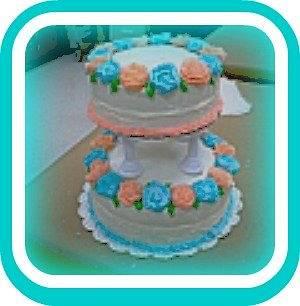 Wilton Course 4 Wedding Cake - Cake by Roxanne