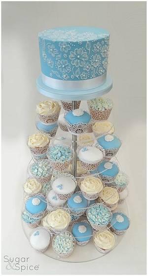 Something Blue ... - Cake by Sugargourmande Lou