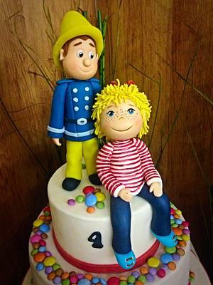 Sam and Conny birthday cake  - Cake by Simone Barton