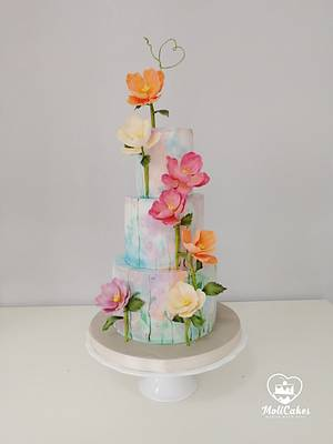 Colourful ... - Cake by MOLI Cakes