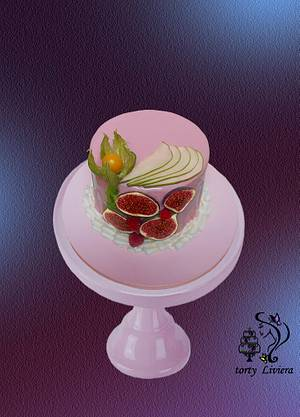 fruit cake - Cake by LiViera