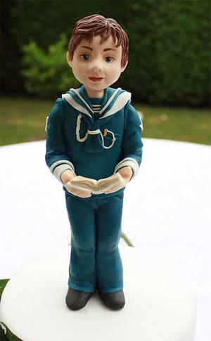 Good Little Sailor Boy  - Cake by Artym