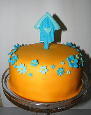 Bird cage cake - Cake by bolosdocesecompotas