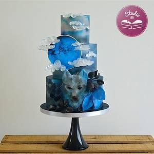 Blue Moon Night's Dream - Cake by Studio53