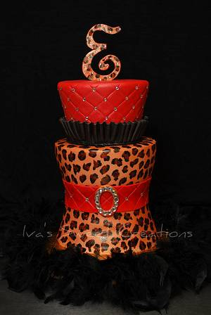 Cake fit for a Diva - Cake by Ivanova Pichardo