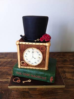 Steampunk 40th Birthday Cake - Cake by FrancesBakes