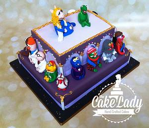 The Muppets Wedding Cake - Cake by The Cake Lady