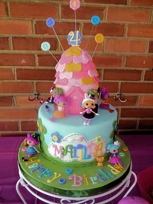 Lalaloopsy Birthday Cake & Cupcakes - Cake by Ellie1985