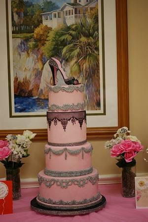 50th Birthday Cake  - Cake by Margie