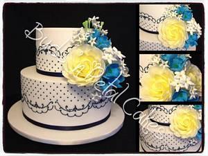 Jasmine - Cake by Buds 'n Petal Cakes