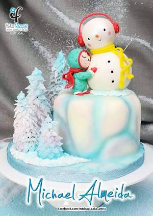 The Snowman - Cake by Michael Almeida