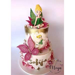 Tinkerbell cake - Cake by Branka Vukcevic