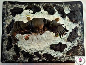 "CPC collab Hogwarts Challenge 2017  ""Dementores""  - Cake by Cholys Guillen Requena"