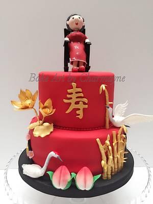 Traditional oriental cake - Cake by Bake Art by Charmayne