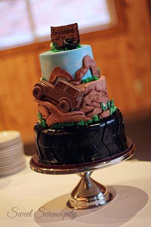 Jeep Safari - Cake by Sweet Serendipity by Sheila