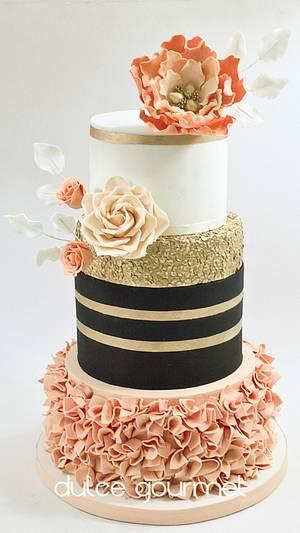 Sweet 15th birthday cake - Cake by Silvia Caballero