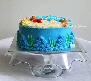 A Lovely Beach theme cake !! - Cake by Ashel sandeep