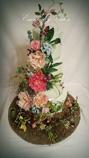 Enchanted Woodland - Cake by Essentially Cakes
