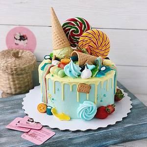 Ice Cream Cake | Designer Cake  - Cake by Kapil Tomar