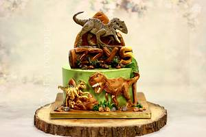 The lost world - Cake by Nimitha Moideen