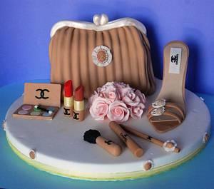 Chic 'n charme - Cake by miryapplepie