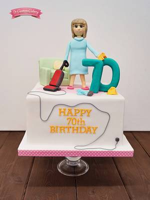 Cleaning Obsessive! - Cake by The Custom Cakery