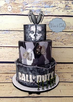 Call of Duty Cake  - Cake by Joly Diaz