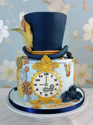 Steampunk Theme - Cake by suzanne