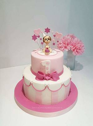 I love my dog - Cake by leccalecca