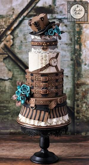 Steampunk - Cake by Tamara