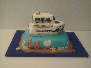 Tarta Crucero - Cake by maria jose garcia herrera