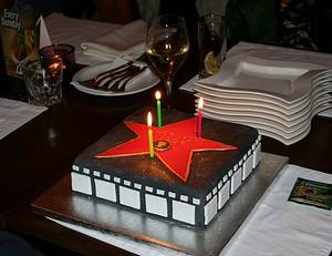 To the Future Star  - Cake by Irina Vakhromkina