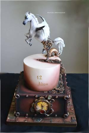 steampunk Cake  - Cake by KamilaAdamaschek