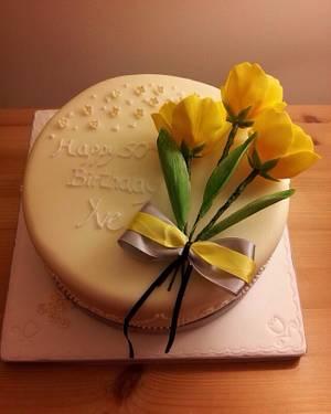 Tulip cake - Cake by Cake Love