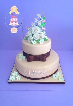 Torta Fiori - Cake by BeSweet