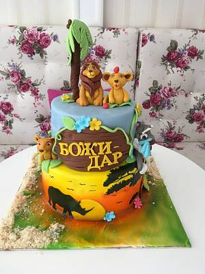 Lion King - Cake by Doroty