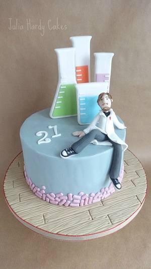 Microbiology Cake - Cake by Julia Hardy