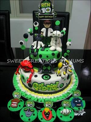 Ben 10 Themed Cake  - Cake by Jo-ann M. Tuazon