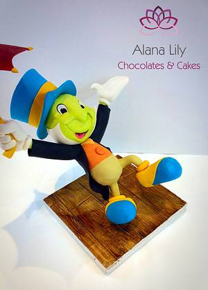 When You Wish Upon a Star collab.....Jiminy Cricket - Cake by Alana Lily Chocolates & Cakes