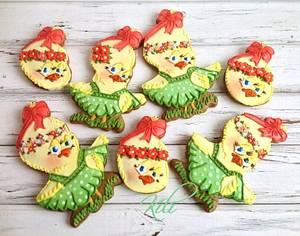 Easter gingerbread - Cake by kili