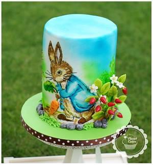 CPC Beatrix Potter Collaboration - Peter Rabbit - Cake by Planet Cakes