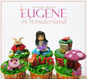 Eugene in Wonderland - Cake by Diana