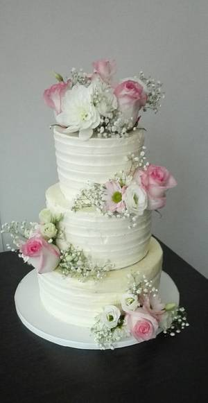 Wedding cake  - Cake by Anka