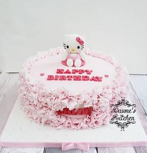Kitty - Cake by Dawne's Kitchen