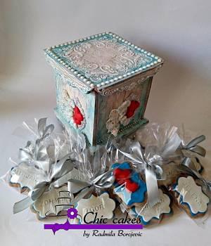 Gingerbread gift box - Cake by Radmila