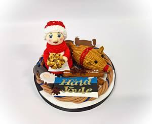 Christmas Around The World 2018-  Estonia - Cake by claire cowburn
