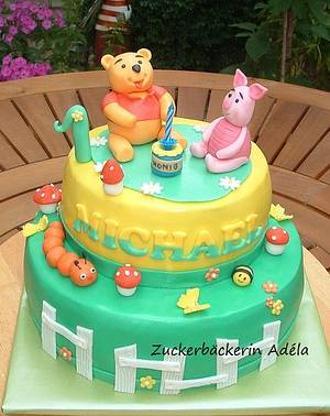 Winnie the Pooh - Cake by Adéla