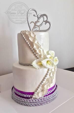 Wedding cakes - Cake by Maria PopCakes